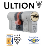 Ultion TS007 3 Star Euro Cylinder